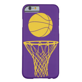 iPhone 6 case Basketball Silhouette Lakers Purple