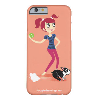 "iPhone 6 case: Boogie Loves All-Mighty ""Skipper"" Barely There iPhone 6 Case"