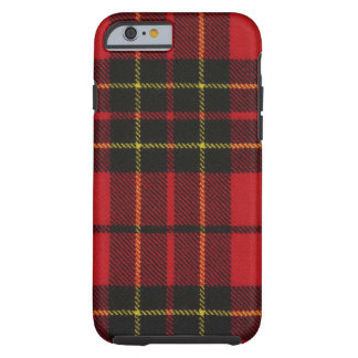 iPhone 6 case Brodie Red Modern Tartan Case