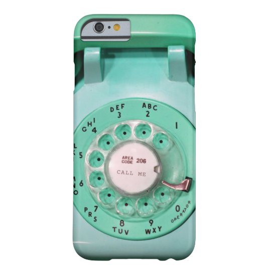 iPhone 6 case - call me rotary dial
