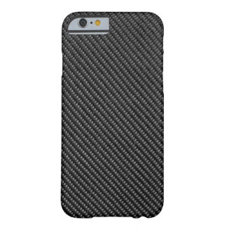 iPhone 6 case - Carbon Fiber - Metallic Black