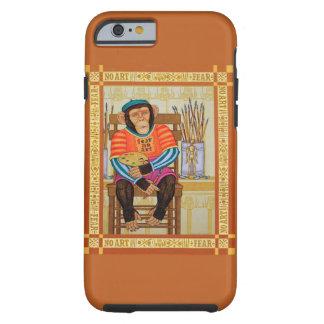 iphone 6 case, chimp art by Zeek Taylor Tough iPhone 6 Case
