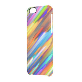 iPhone 6 Case Colorful digital art splashing G391