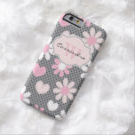 iPhone 6 Case | Daisies | Polka Dots | Hearts Barely There iPhone 6 Case
