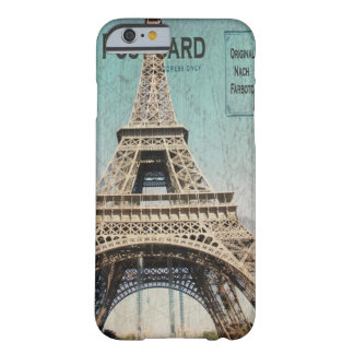 iPhone 6 case Eiffel Tower Postcard from Paris Barely There iPhone 6 Case