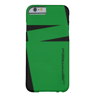 iPhone 6 Case Green & Black Stripe on Stripe