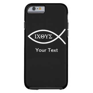 iPhone 6 case - Ichthys - Your Text - Template