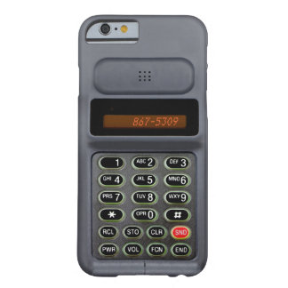 iPhone 6 case in the style of a mid 90s cell phone Barely There iPhone 6 Case