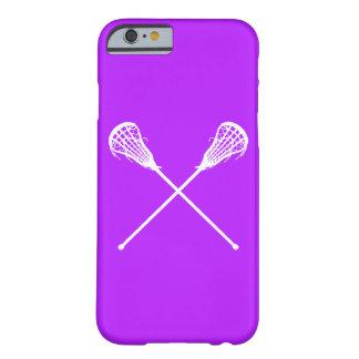 iPhone 6 case Lacrosse Sticks Purple