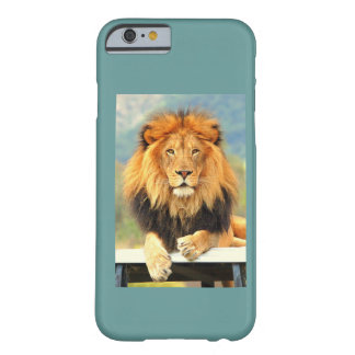 iPhone 6 case Male Lion King of the Jungle Barely There iPhone 6 Case