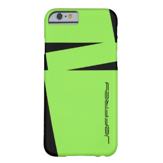 iPhone 6 Case Modern Green and Black All Occasion Barely There iPhone 6 Case