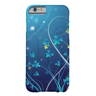 iPhone 6 case Ocean Blue Flowers case Barely There iPhone 6 Case