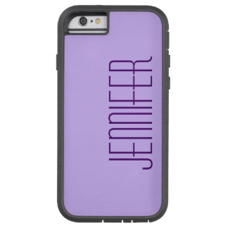 iPhone 6 Case, Purple, Personalised, Sturdy Tough Xtreme iPhone 6 Case
