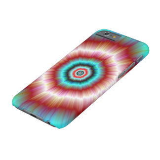 iPhone 6 Case  Red and Blue Exploding Doughnut