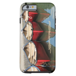 iPhone 6 Case Red Canoes & Reflections Tough iPhone 6 Case