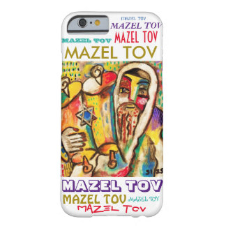 iPhone 6 case Rejoicing With Torah Mazel Tov cell Barely There iPhone 6 Case