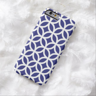 iPhone 6 Case - Royal Blue Geometric Pattern