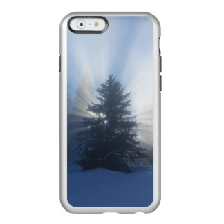 iPhone 6 case : Sunlight behind christmas tree Incipio Feather® Shine iPhone 6 Case