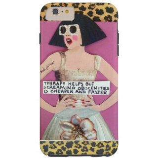 IPHONE 6 CASE-THERAPY HELPS BUT SCREAMING TOUGH iPhone 6 PLUS CASE