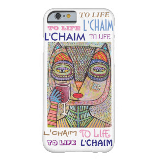 iPhone 6 case To Life L'Chaim Pink Owl Cell Barely There iPhone 6 Case