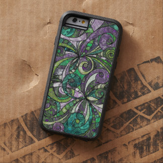 iPhone 6 Case Tough Drawing Floral