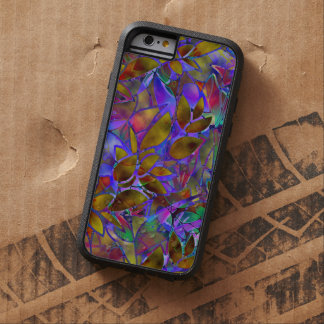 iPhone 6 Case Tough Floral Abstract Stained Glass