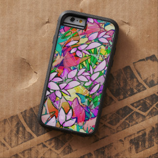 iPhone 6 Case Tough Grunge Art Floral Abstract Tough Xtreme iPhone 6 Case