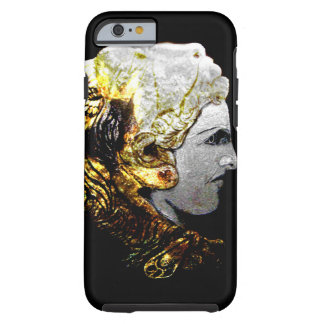 Iphone 6 case with Alexander the great lion helmet