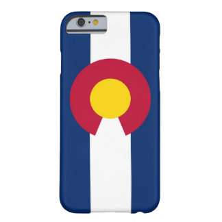 iPhone 6 case with Flag of Colorado Barely There iPhone 6 Case