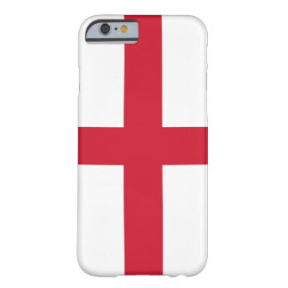 iPhone 6 case with Flag of England Barely There iPhone 6 Case