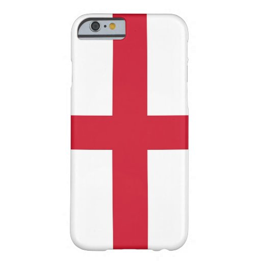 iPhone 6 case with Flag of England