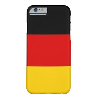 iPhone 6 case with Flag of Germany