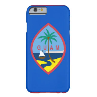 iPhone 6 case with Flag of Guam Barely There iPhone 6 Case