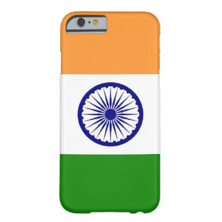 iPhone 6 case with Flag of India Barely There iPhone 6 Case