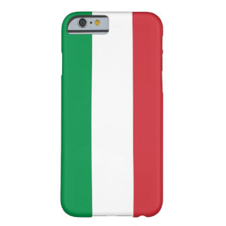 iPhone 6 case with Flag of Italy Barely There iPhone 6 Case