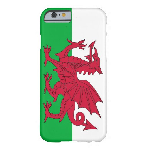 iPhone 6 case with Flag of Wales