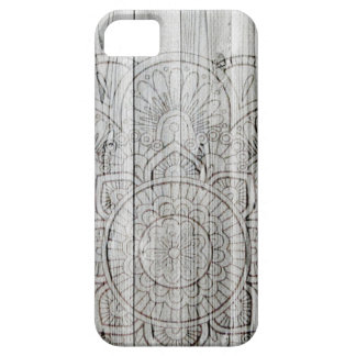 iPhone 6 Case Wooden Mandala iPhone Case Wood