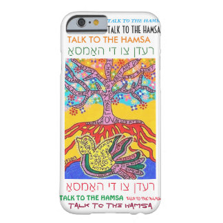 iPhone 6 case Yiddish Peace Dove Tree of Life cell Barely There iPhone 6 Case