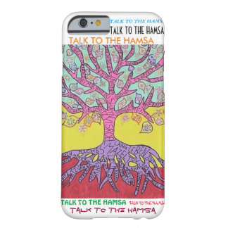 iPhone 6 case Yiddish Pink Tree of Life cell Barely There iPhone 6 Case