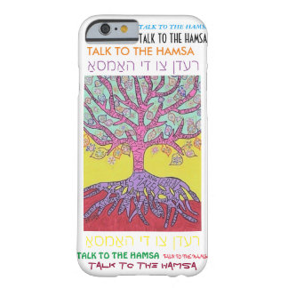 iPhone 6 case Yiddish Pink Tree of Life cell II Barely There iPhone 6 Case