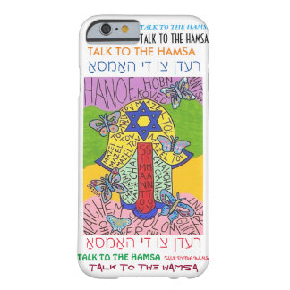 iPhone 6 case Yiddish Star of David Hamsa cell Barely There iPhone 6 Case