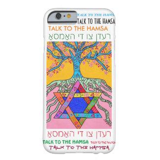 iPhone 6 case Yiddish Star of David Tree of Life
