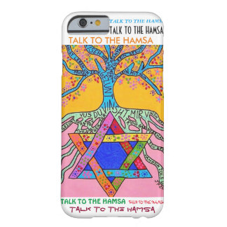 iPhone 6 case Yiddish Star of David Tree of Life Barely There iPhone 6 Case