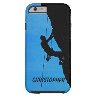 iPhone 6 iPhone 6s Case Personalized, Rock Climber Tough iPhone 6 Case