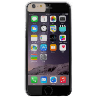 iPhone 6 Plus, Barely There, Mirror image, screen Barely There iPhone 6 Plus Case