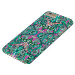 iPhone 6 Plus Case Barely Drawing Floral Zentangle Barely There iPhone 6 Plus Case