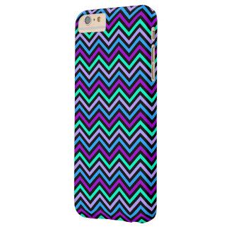 iPhone 6 Plus Case Barely Zig Zag Chevron Pattern