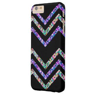 iPhone 6 Plus Case Barely Zig Zag Sparkley Texture