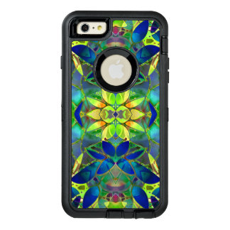 iPhone 6 Plus Case Floral Fractal Art