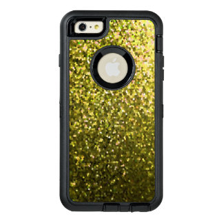 iPhone 6 Plus Case Gold Mosaic Sparkley Texture